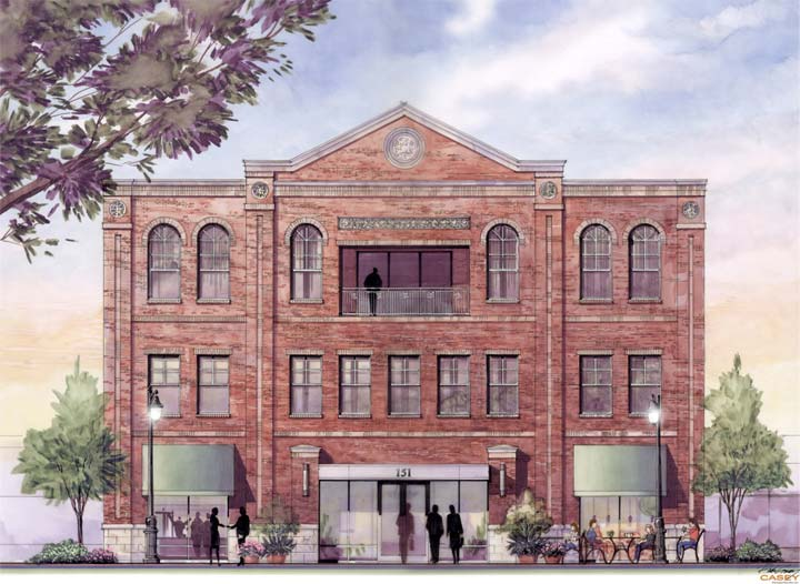 151 West Main Street rendering